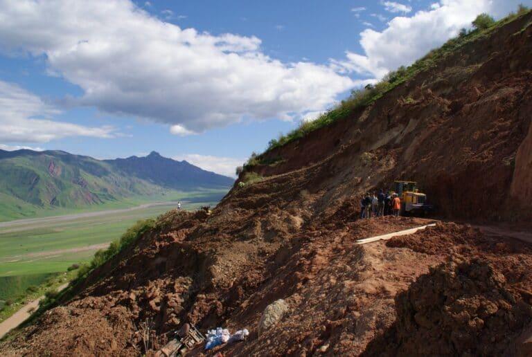 Glissement de terrain au Tadjikistan