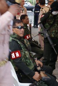 policiers en Thailande