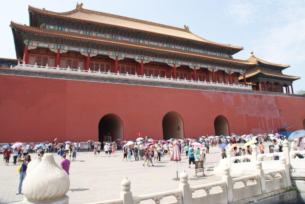 La cité interdite à Pekin