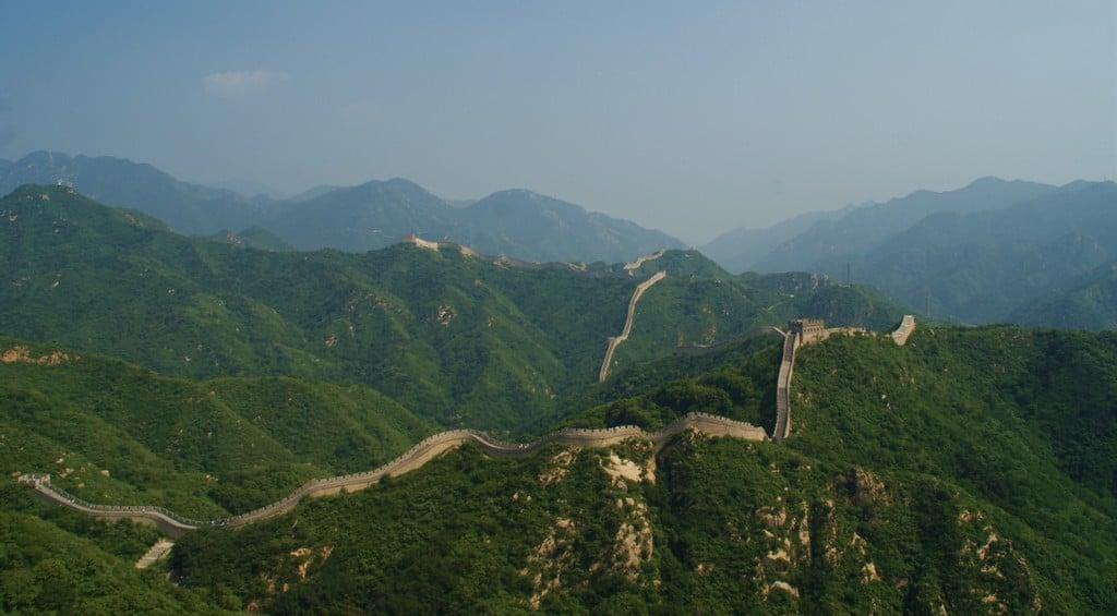 La muraille de Chine à Badaling