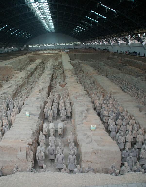 soldats de terre cuite de Xian