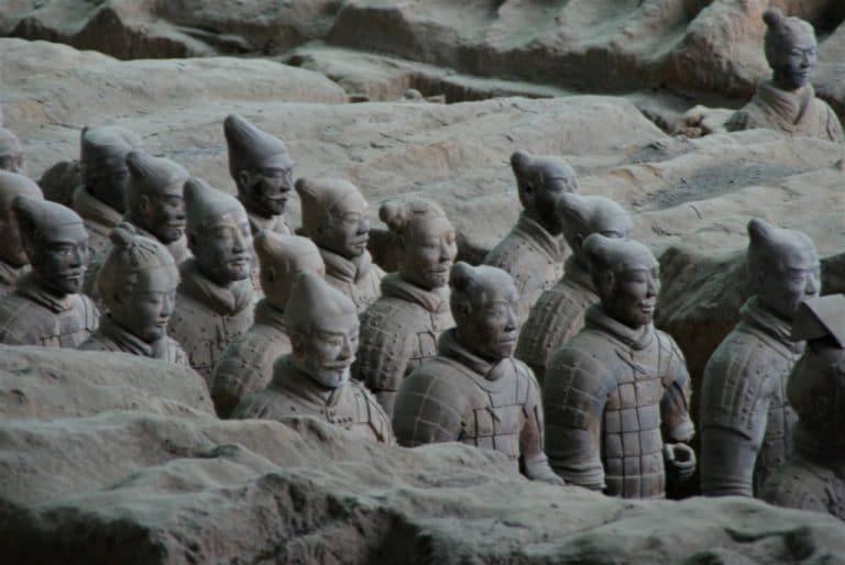 l'armée ensevelie du premier empereur Qin
