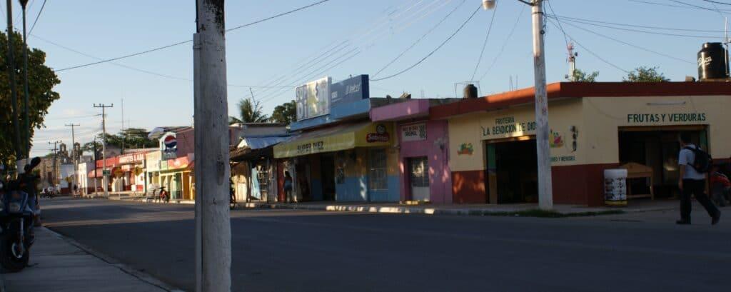 Piste, village mexicain proche de Chichen Itza