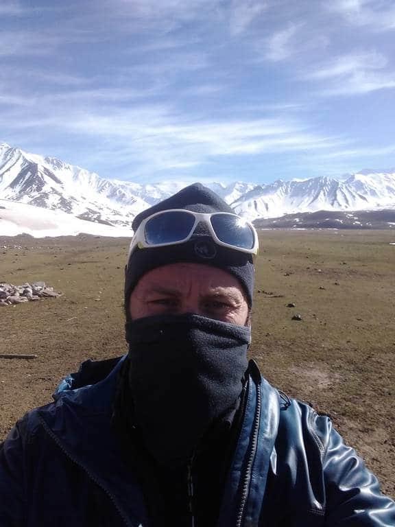 moi au kirghizistan