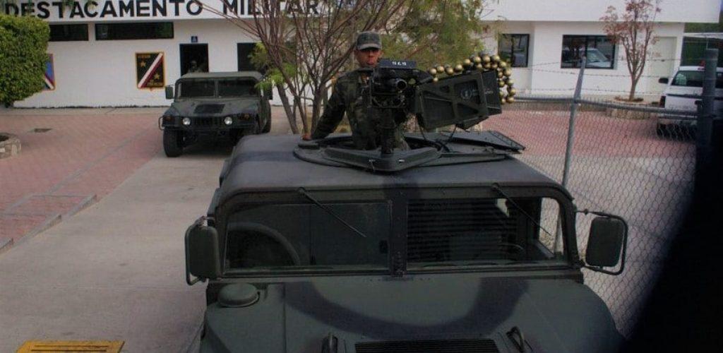 Controle de police au Mexique