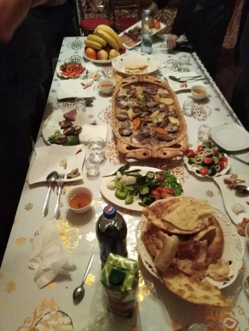 repas Kazakh
