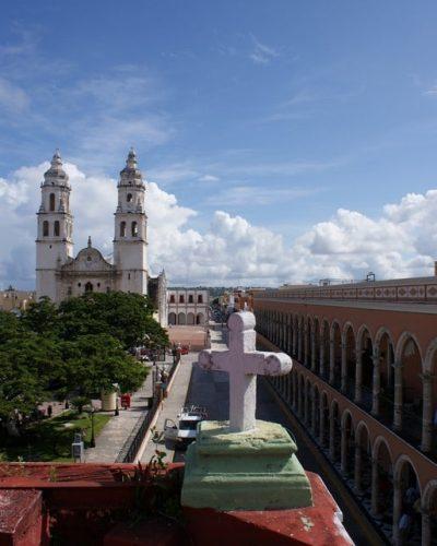 L'eglise de Campeche